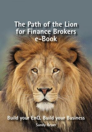 The Path of the Lion for Finance Brokers